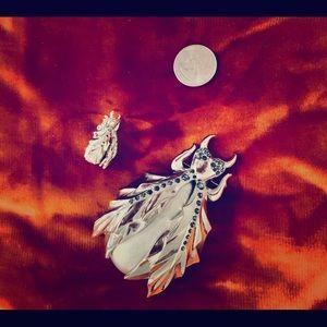Jeweled Bug Pins!